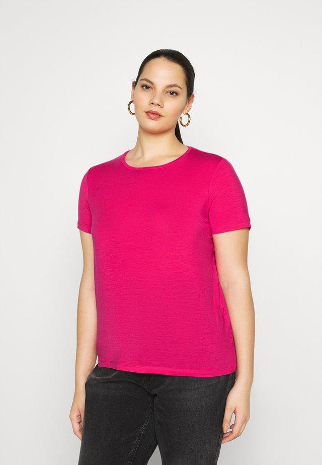 VMAVA - Basic T-shirt - pink peacock