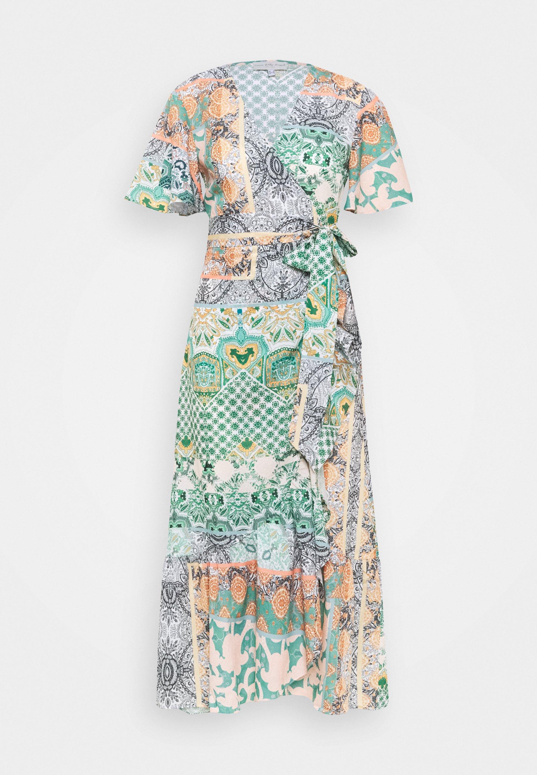 Women CORDELIA WRAP DRESS - Maxi dress