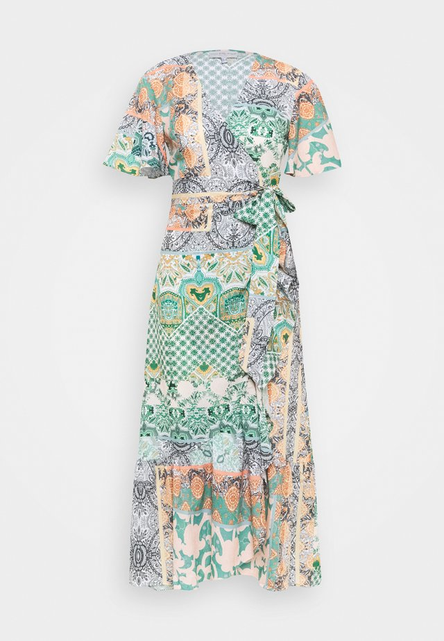 CORDELIA WRAP DRESS - Maxikjole - multicoloured
