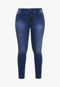 Vero Moda Curve - VMSEVEN SHAPE UP - Slim fit jeans - medium blue denim - 4