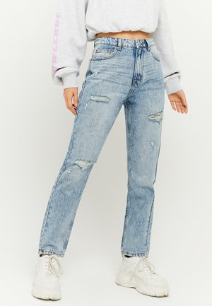 Relaxed fit jeans - blu