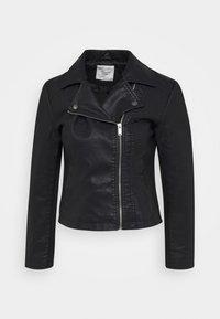 JDYSIMBA  - Faux leather jacket - black