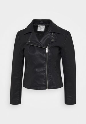 JDYSIMBA  - Faux leather jacket - black