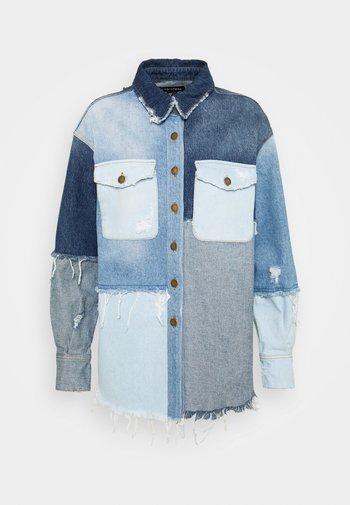 PERRI JACKET - Denim jacket - indigo