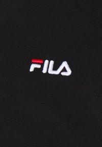 Fila - EDRIC LONG SLEEVE - Långärmad tröja - black - 2