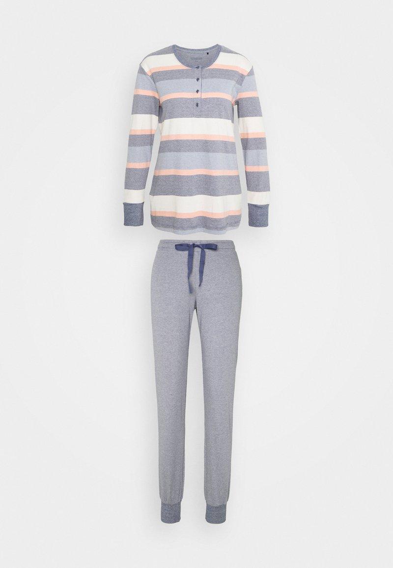 Schiesser - ANZUG LANG - Pyjama set - blau