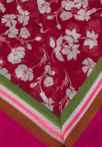 Codello - FLOWER PRINT - Skjerf - dark red - 1