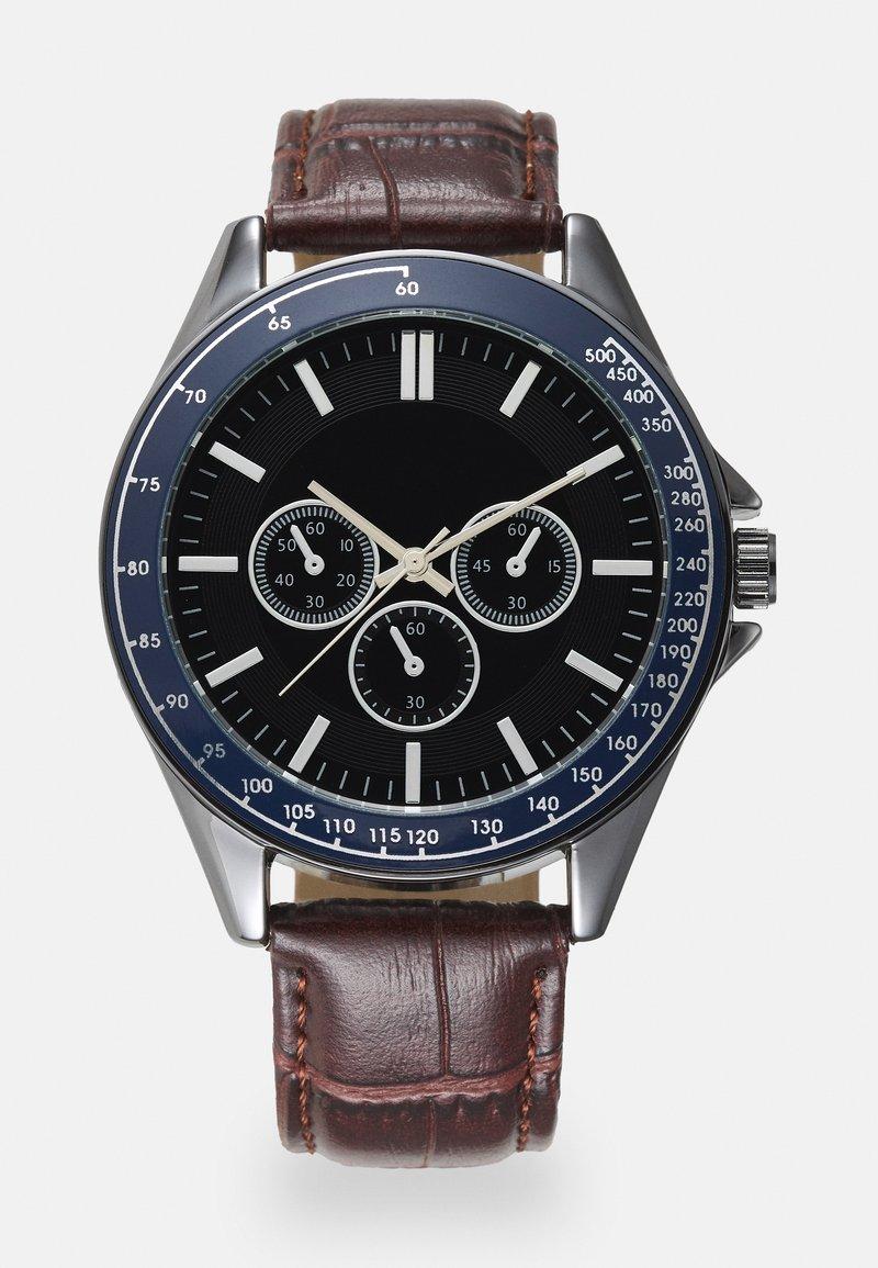 Burton Menswear London - CHUNKY WATCH - Reloj - brown/multi