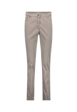 """BRAX DAMEN FIVE-POCKET-HOSE """"INA TOUCH"""" - Jeans slim fit - taupe (23)"""