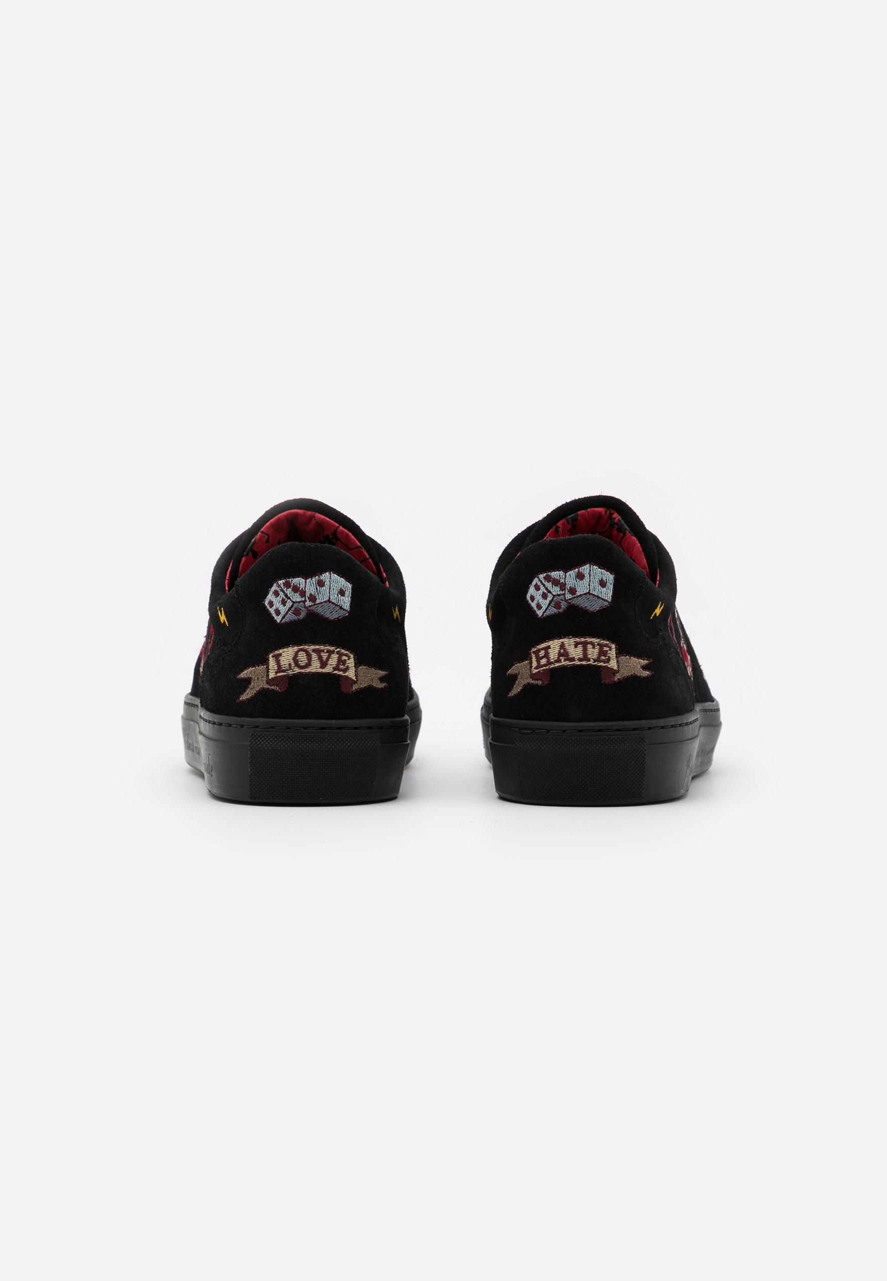 Jeffery West TATTOO - Sneaker low - black/schwarz - Herrenschuhe fI1TB