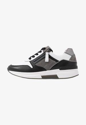 Sneakersy niskie - weiss/stone/schwarz
