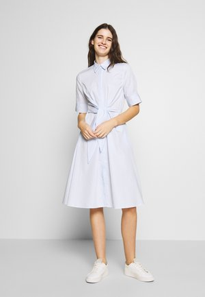 BROADCLOTH DRESS - Shirt dress - blue/white