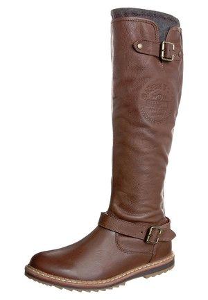 PEREZ 08 - Cowboy/Biker boots - brown