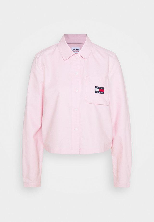 BADGE POCKET - Camisa - romantic pink