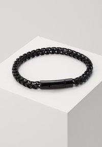 Icon Brand - FACET CHAIN BRACELET - Pulsera - black - 1