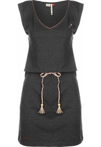 Ragwear - KLEID SLAVKA W - Jersey dress - black - 0