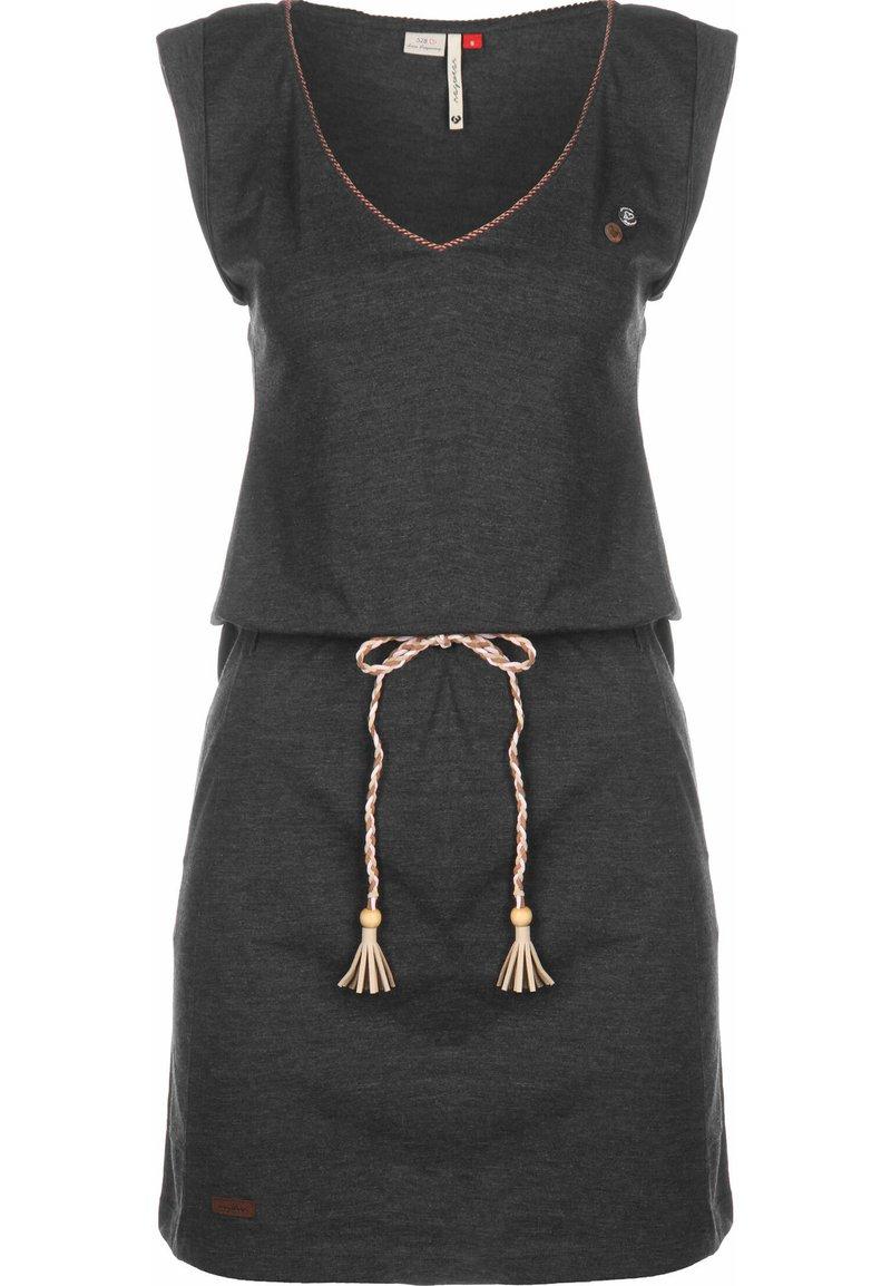 Ragwear - KLEID SLAVKA W - Jersey dress - black