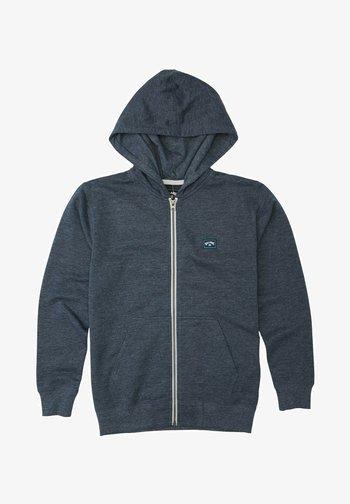 ALL DAY ZIP - Zip-up sweatshirt - navy