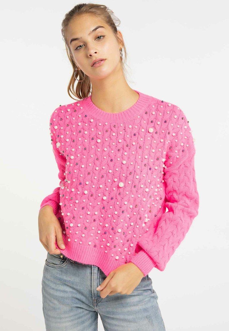 myMo - Jumper - neon pink