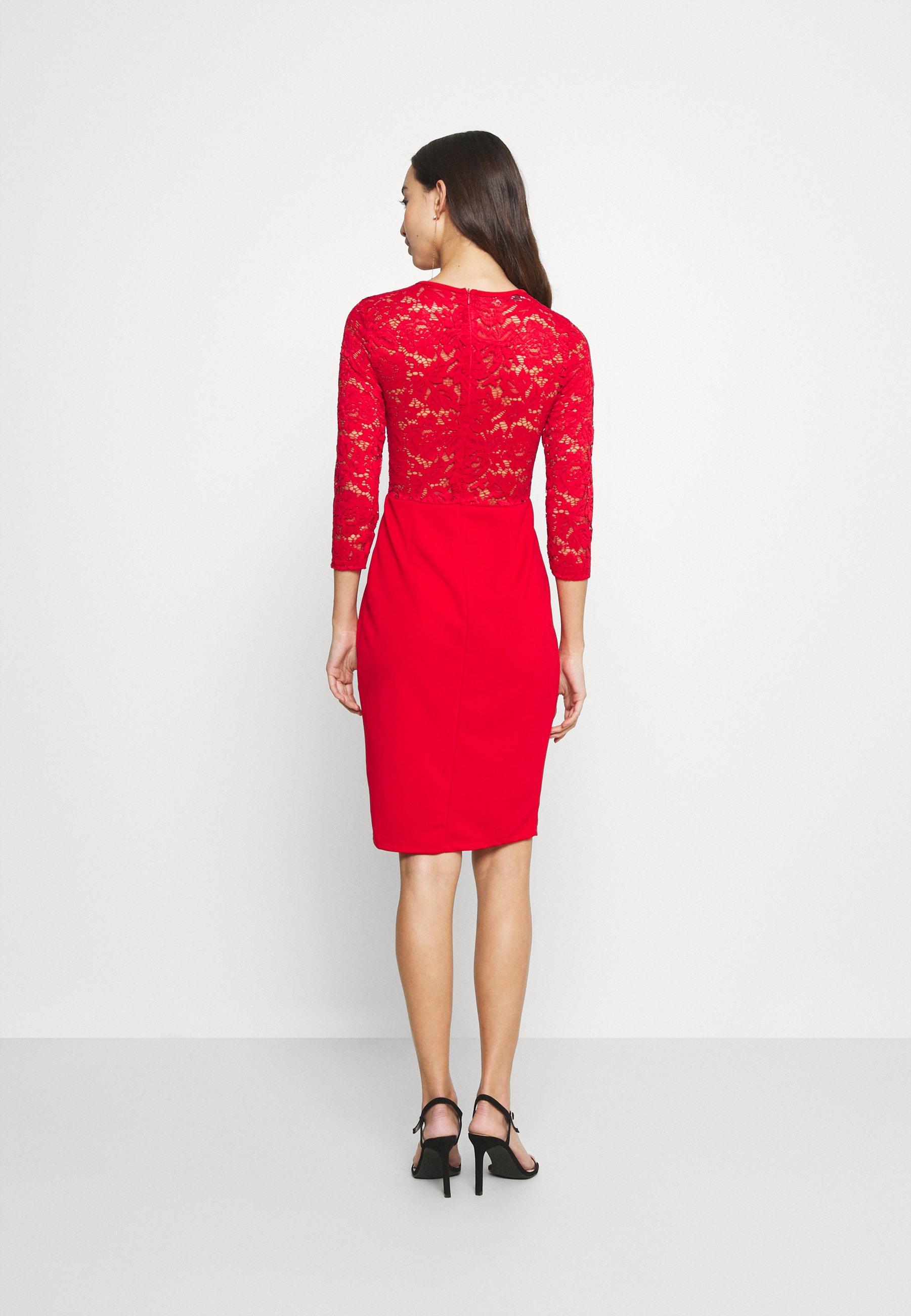 WAL G. NALA DRESS Freizeitkleid red/rot