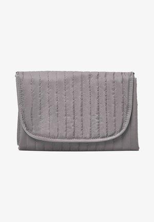 CANVAS BABY CHANGING MAT - Kosmetická taška - grey