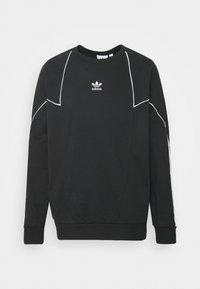 adidas Originals - CREW - Sweatshirt - black/white - 4