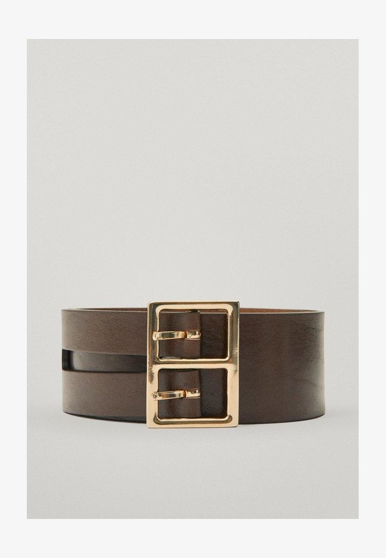 Massimo Dutti - Belt business - brown