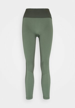 SEAMLESS - Leggings - northern green