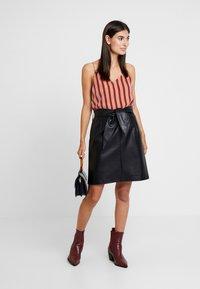 Aaiko - PATIA - A-line skirt - black - 1