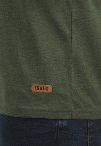 Solid - VOLKER - Basic T-shirt - climb ivy - 4