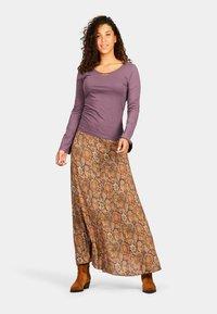 Isla Ibiza Bonita - SANT RAFEL - Maxi skirt - mysterious indian flowers - 1