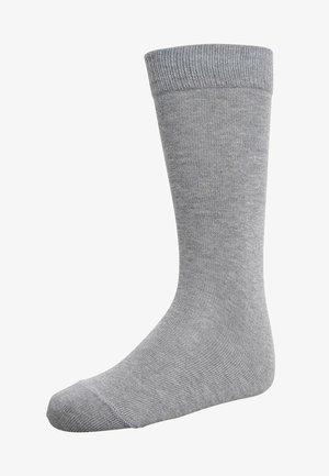 FAMILY UNISEX - Knee high socks - light grey melange