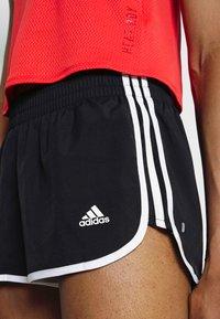 adidas Performance - M20 SHORT - Pantalón corto de deporte - black/white - 5