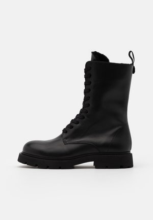 KRISHA LACED BOOT - Lace-up boots - black