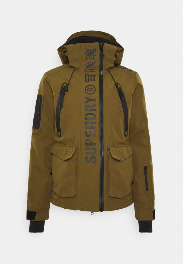 ULTIMATE MOUNTAIN RESCUE - Ski jacket - dusty olive