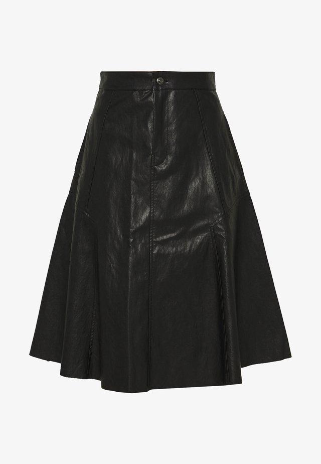 OCTARIA - Áčková sukně - schwarz