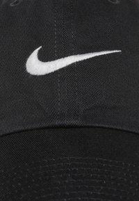 Nike Sportswear - SWOOSH HERITAGE86 - Caps - black/wolf grey - 6
