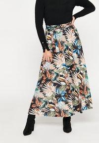 LolaLiza - Maxi skirt - multicolor - 0