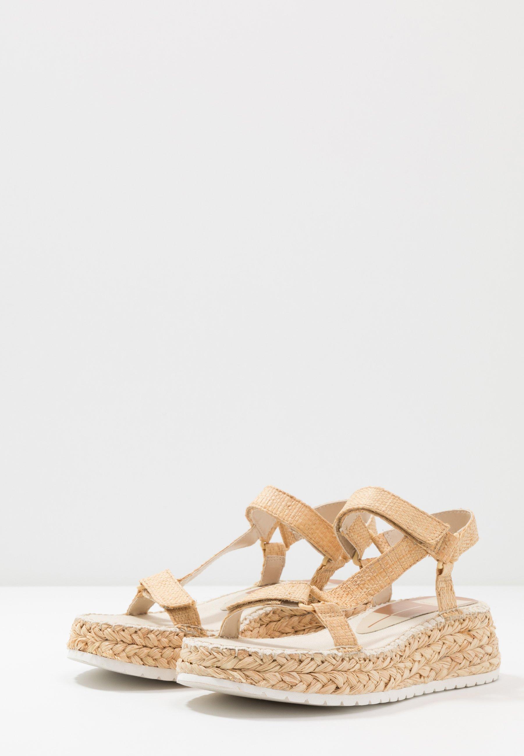 Dolce Vita MANO - Espadrilles - light natural - Sandales & Nu-pieds femme Classique