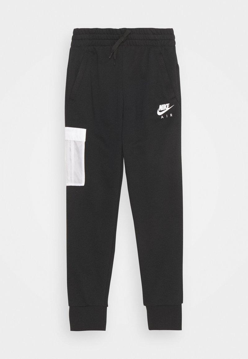Nike Sportswear - AIR PANT - Verryttelyhousut - black/white