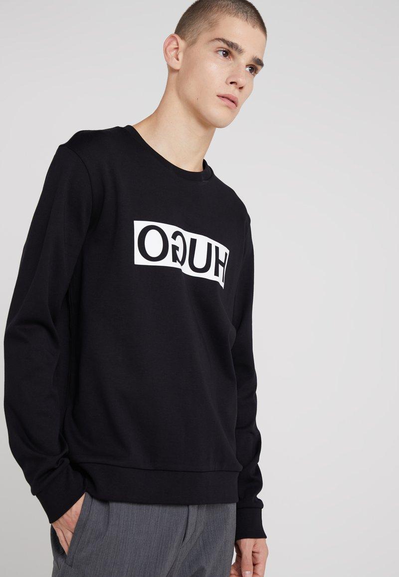 HUGO - DICAGO - Camiseta de manga larga - black