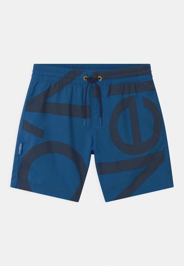 CALI ZOOM  - Swimming shorts - blue
