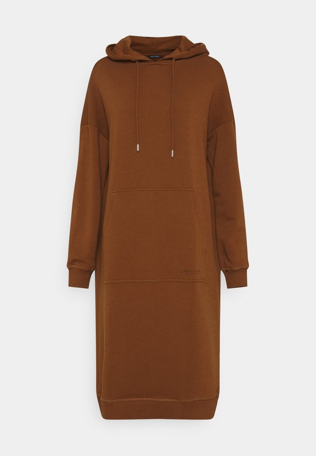 DRESS HOOD - Hverdagskjoler - toffee brown