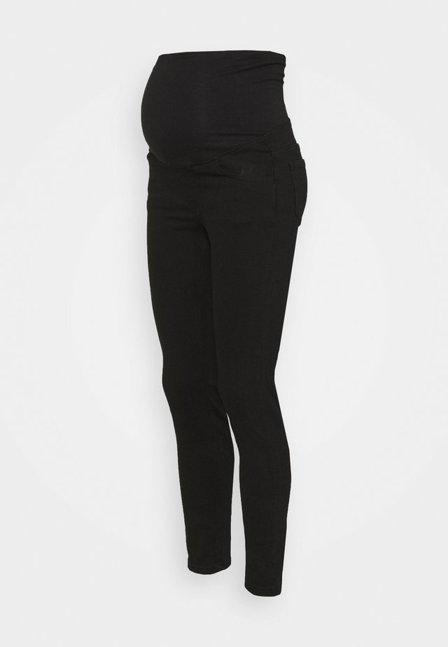 MATERNITY SUPER STRETCH  - Kangashousut - black