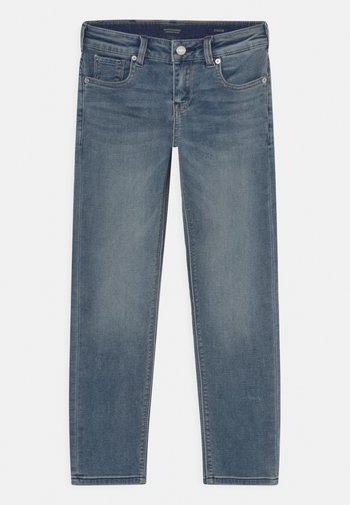 TIGGER - Straight leg jeans - weathered blue light