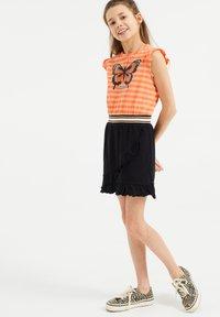 WE Fashion - Jerseyjurk - orange - 0