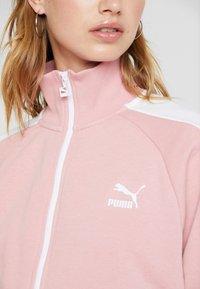 Puma - CLASSICS T7 - Training jacket - bridal rose - 6