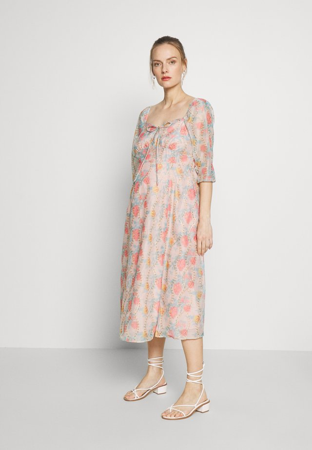 DRESS - Korte jurk - multi-coloured
