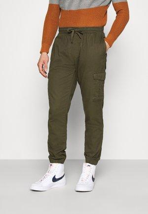 FINE - Cargo trousers - khaki