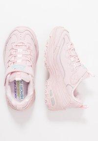 Skechers - D'LITES - Sneakersy niskie - light pink - 0